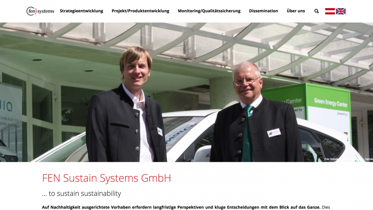 FEN-SYSTEMS Founder of Green Energy Center Europe, Innsbruck Technikerstraße 1A,