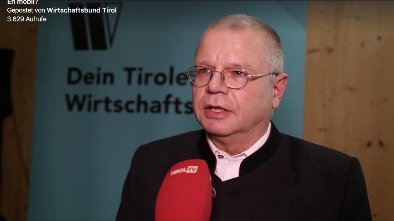 Keynote beim Tiroler Wirtschaftsbund