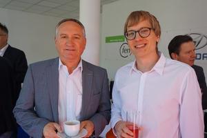 Erstes Informationsfrühstück im Green Energy Center Europe