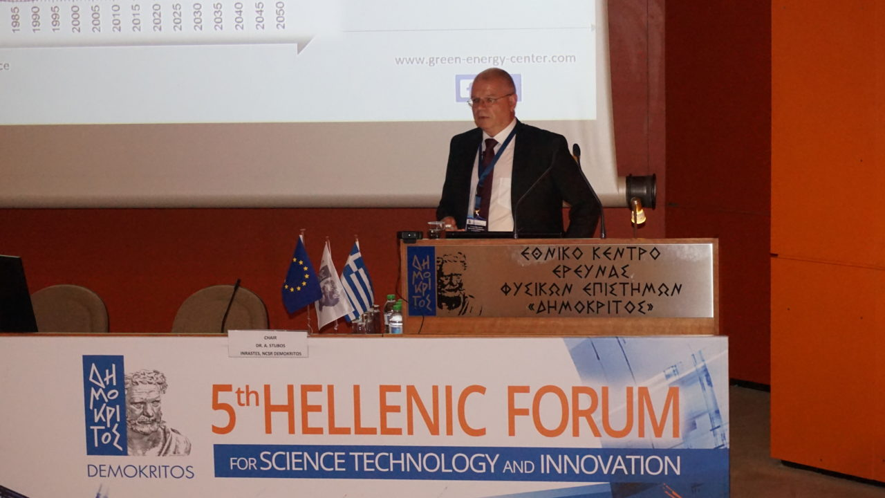 "Keynote 5th Helenic Forum in Athen ""Conversion of the Tyrolian Energy System Based on the Example Demo4Grid"""