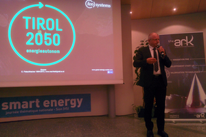 "Keynote 7th national Smart Energy Day in Sion-Switzerland: ""Tyrolean Energy Strategy Program"""