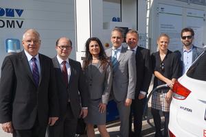 Wasserstoffautos erreichen nun Graz, vierte H2-Tankstelle in Österreich eröffnet
