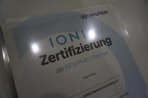 Weitere Hyundai IONIQ BEV Partner zeritfiziert