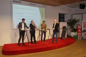"""WKO Podiumsdiskussion """"Chancen für die E-Mobilität in Tirol"""""""
