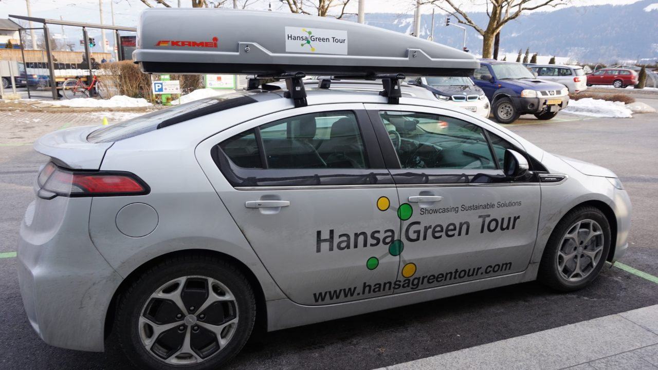 Hansa Green Tour started at the Green Energy Center Europe
