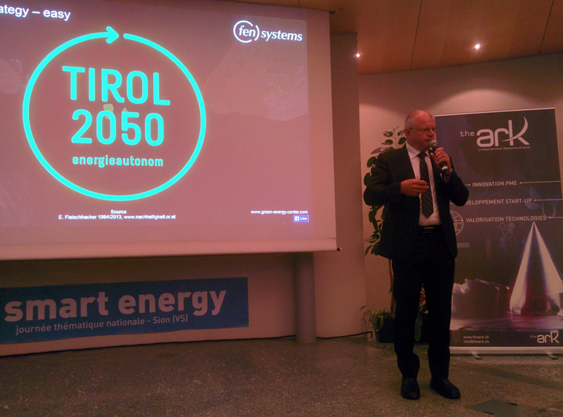 "Keynote ""Tyrolean Energy Strategy Program"", 7th national Smart Energy Day in Sion-Switzerland"