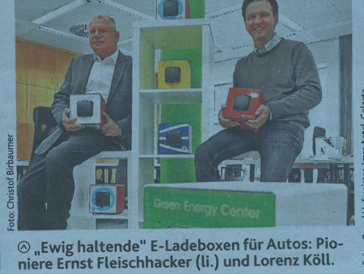 E-Ladebox von ENOMICS