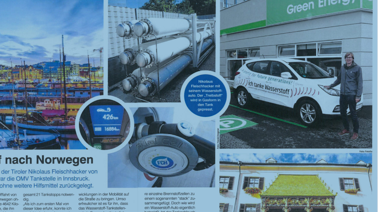 The European hydrogen highway has reached Norway