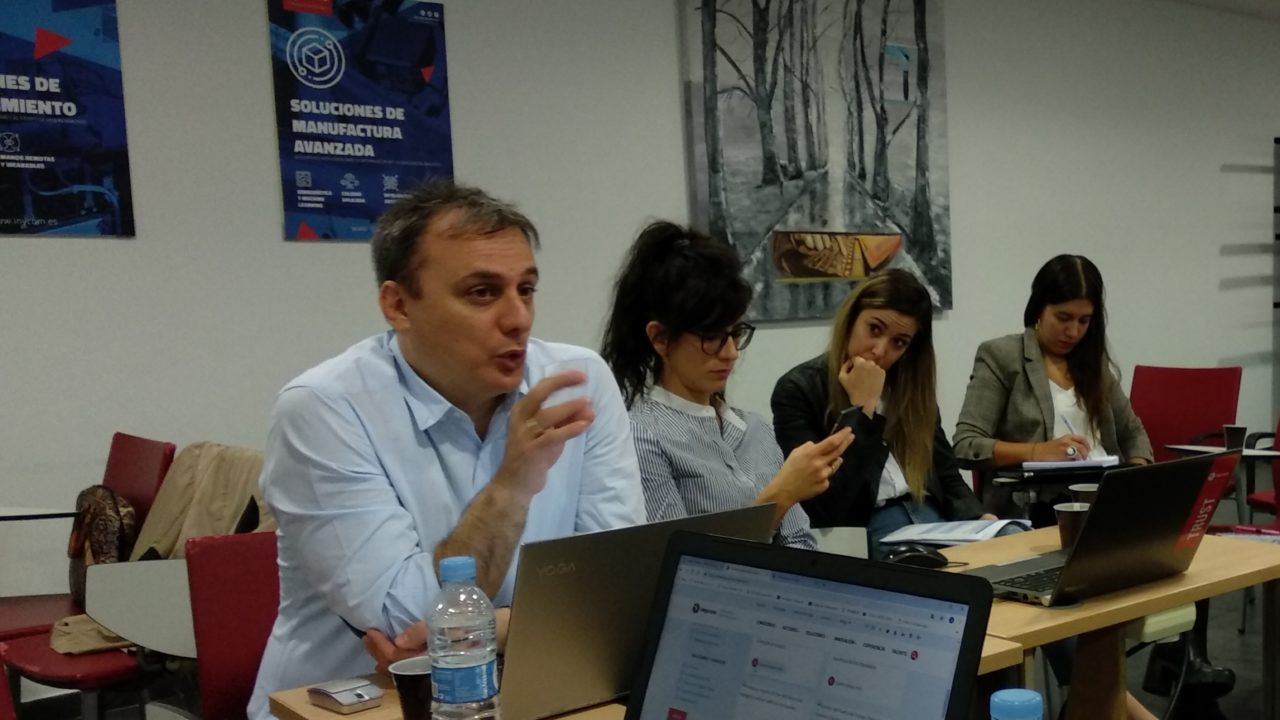 Demo4Grid Project Meeting in Zaragoza Spain