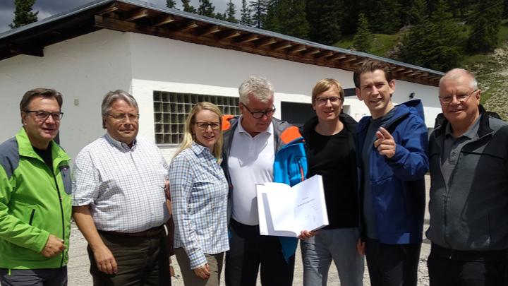 Bergauf für die Zillertalbahn 2020 + mit Wasserstoff, Begegnung mit Bundeskanzler Sebastian Kurz