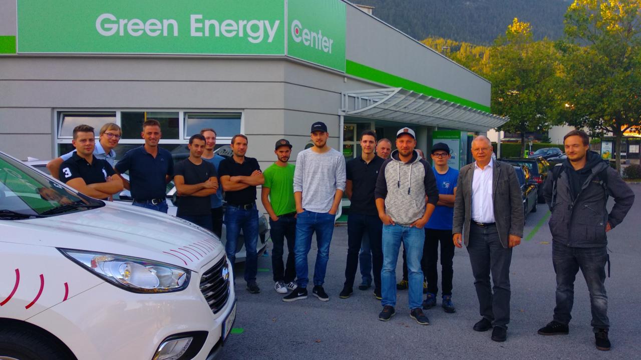 WIFI Sicherheitsschulung für Arbeiten an KFZ mit Hybrid- und Elektroantrieben am Green Energy Center Europe