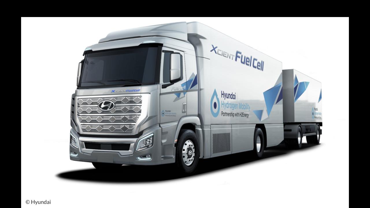 Erste Serie von Hyundai Fuel Cell Trucks für die Schweiz, Europa und auch für Österreich?