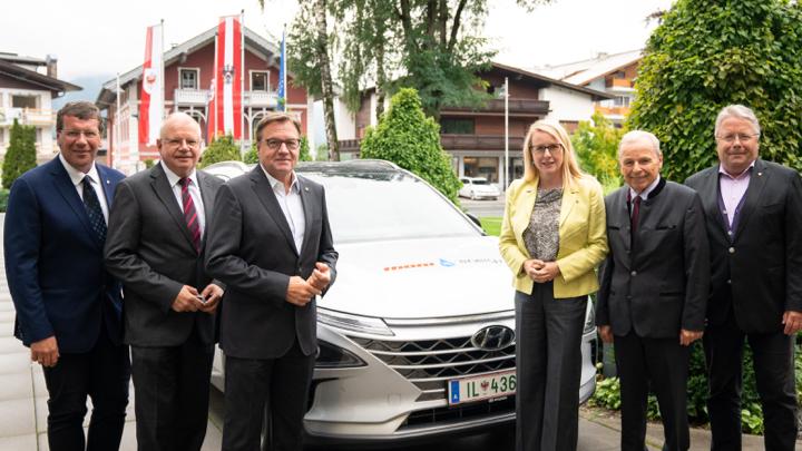 Visionen, Projekte und Maßnahmen zum Aufbau einer grünen Wasserstoffwirtschaft in Tirol