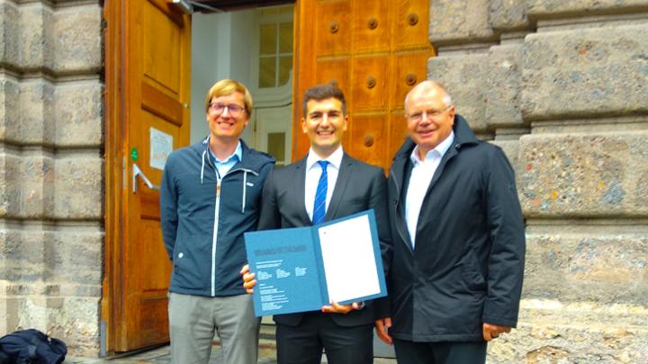 FEN Systems Mitarbeiter Filip Boban wurde im Rahmen einer feierlichen Sponsion an der Leopold-Franzens-Universität Innsbruck der akademische Grad Mag. jur. verliehen